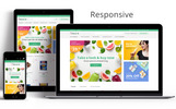 Obveris - Clean Grocery eCommerce Store Tema Magento №83332