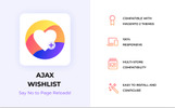 Zemez Ajax Wishlist Magento Extension