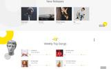 Recordo - Music Studio Creative Multipage HTML Website Template