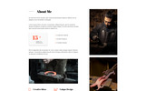 ALF's - Personal Page Modern Multipage HTML Website Template