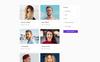 GO - Dating Agency Elegant Multipage HTML Website Template Big Screenshot