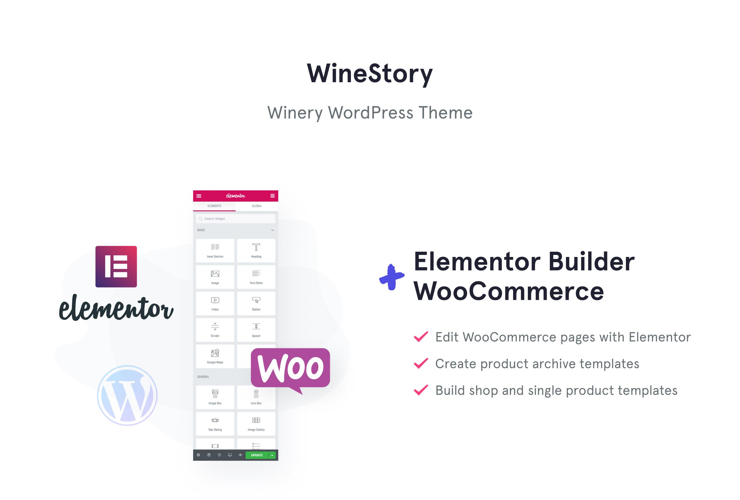 WineStory - Genuine And Charming Winery WooCommerce Theme