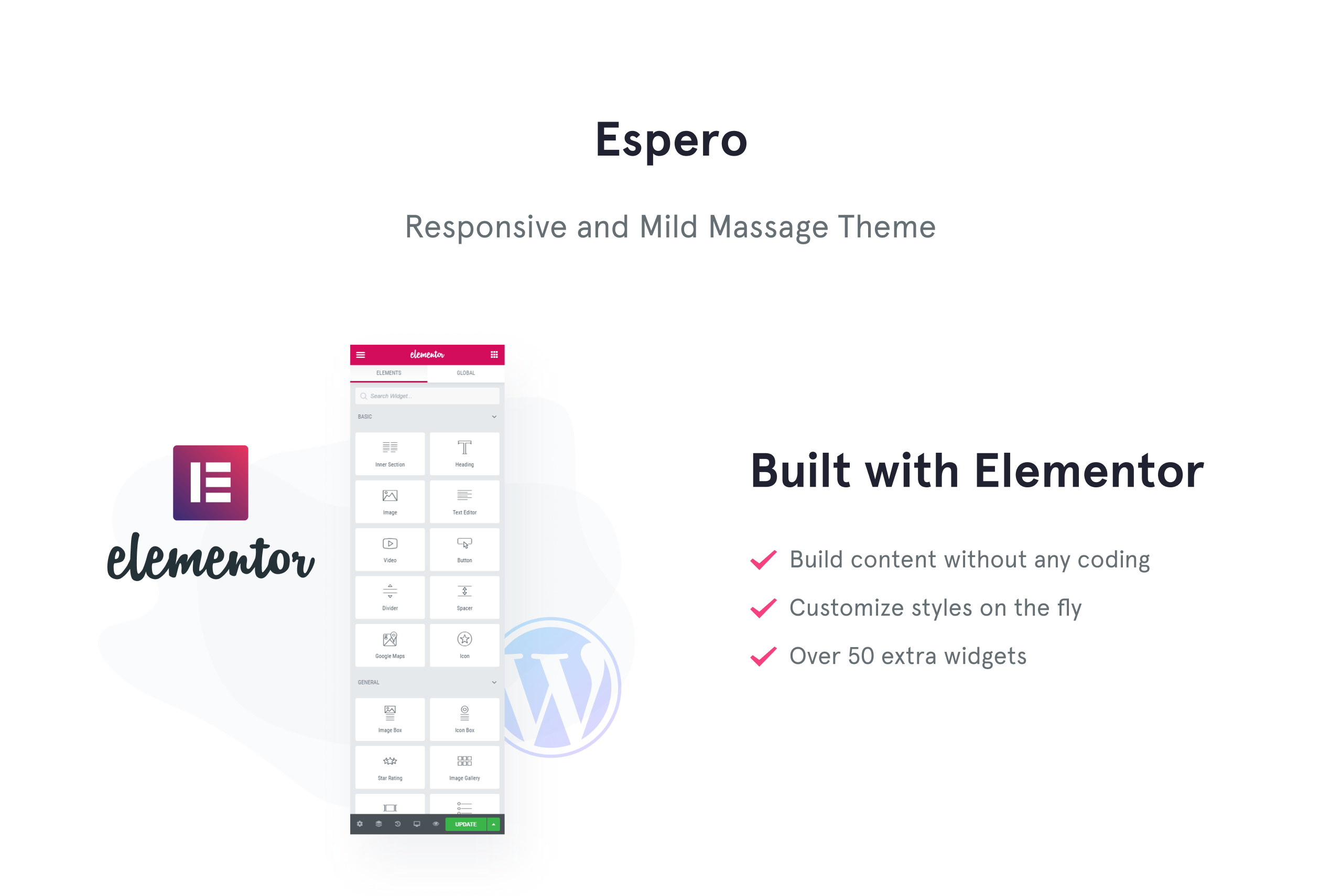 Espero - Massage Salon Responsive WordPress Theme
