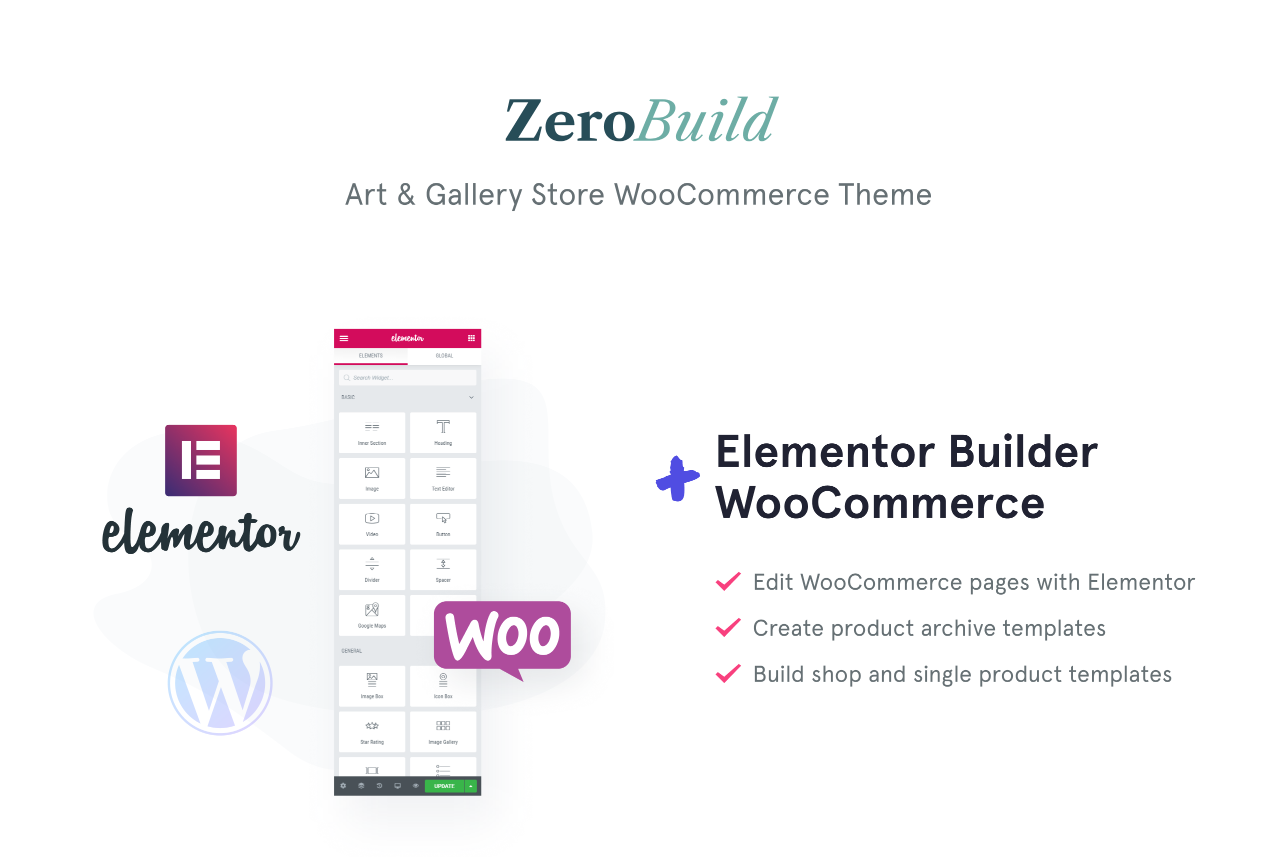 ZeroBuild - WooCommerce Art Gallery Theme That Boosts Your Shop WooCommerce Theme