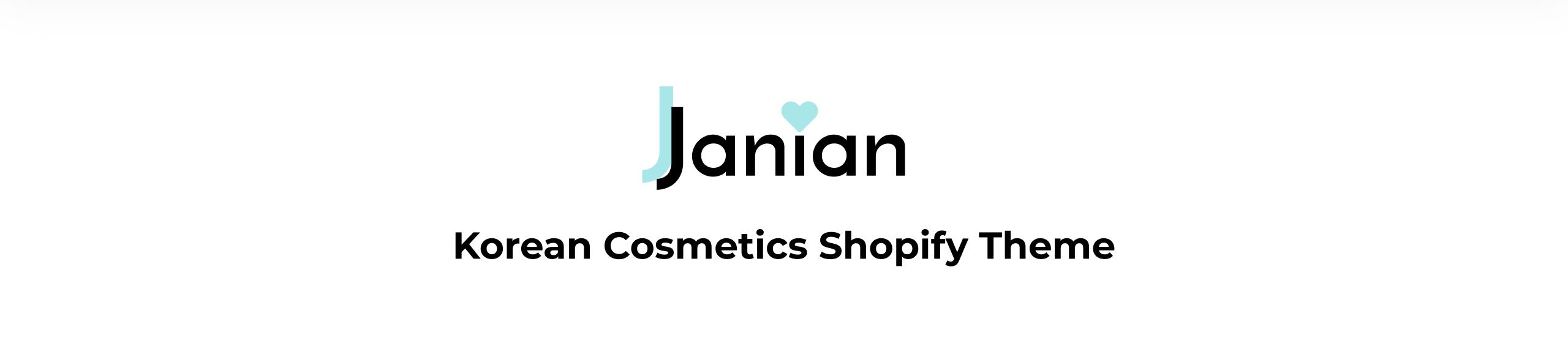 Janian - Korean Cosmetics Online Store Shopify Theme