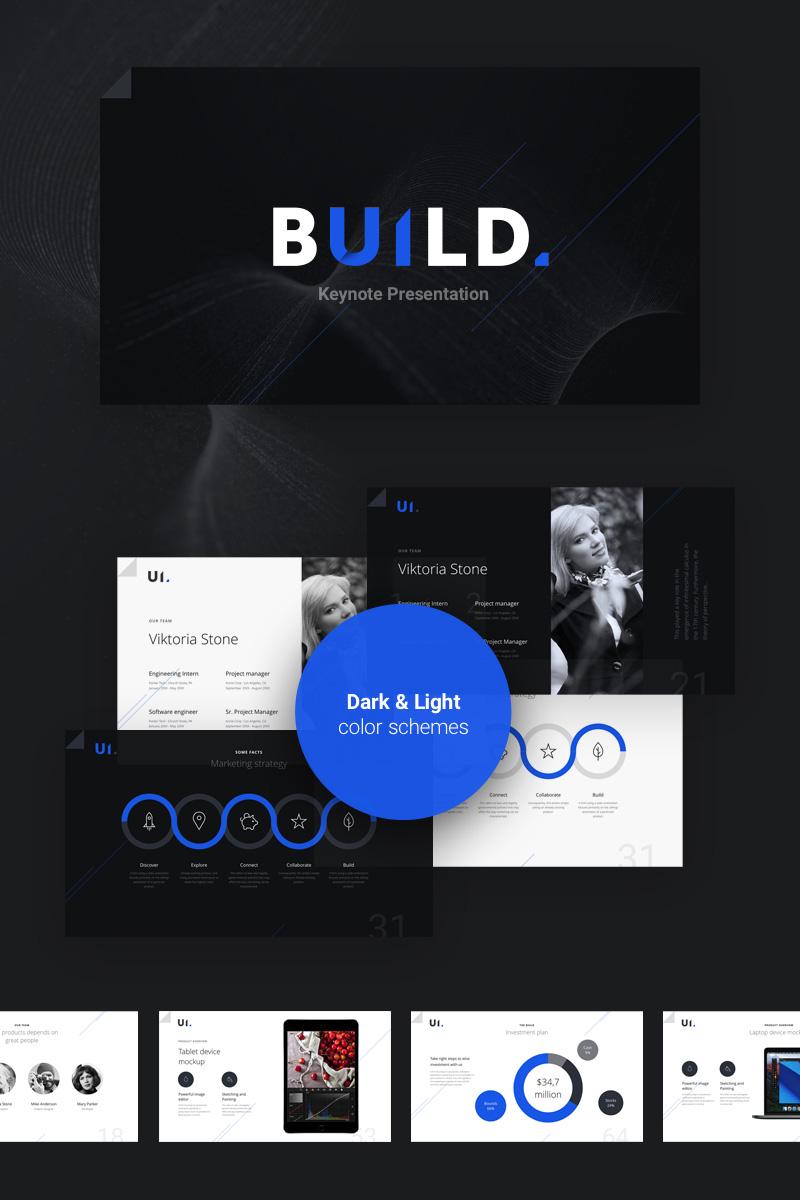 BUILD Keynote Template #74409