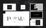 """PowerPoint Vorlage namens """"Forma"""""""