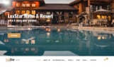 "Responzivní Joomla šablona ""LuxStar Hotel & Resort Booking with Page Builder & Booking form"""