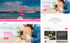 "Joomla Vorlage namens ""Wedding & Wedding Planner"" Großer Screenshot"