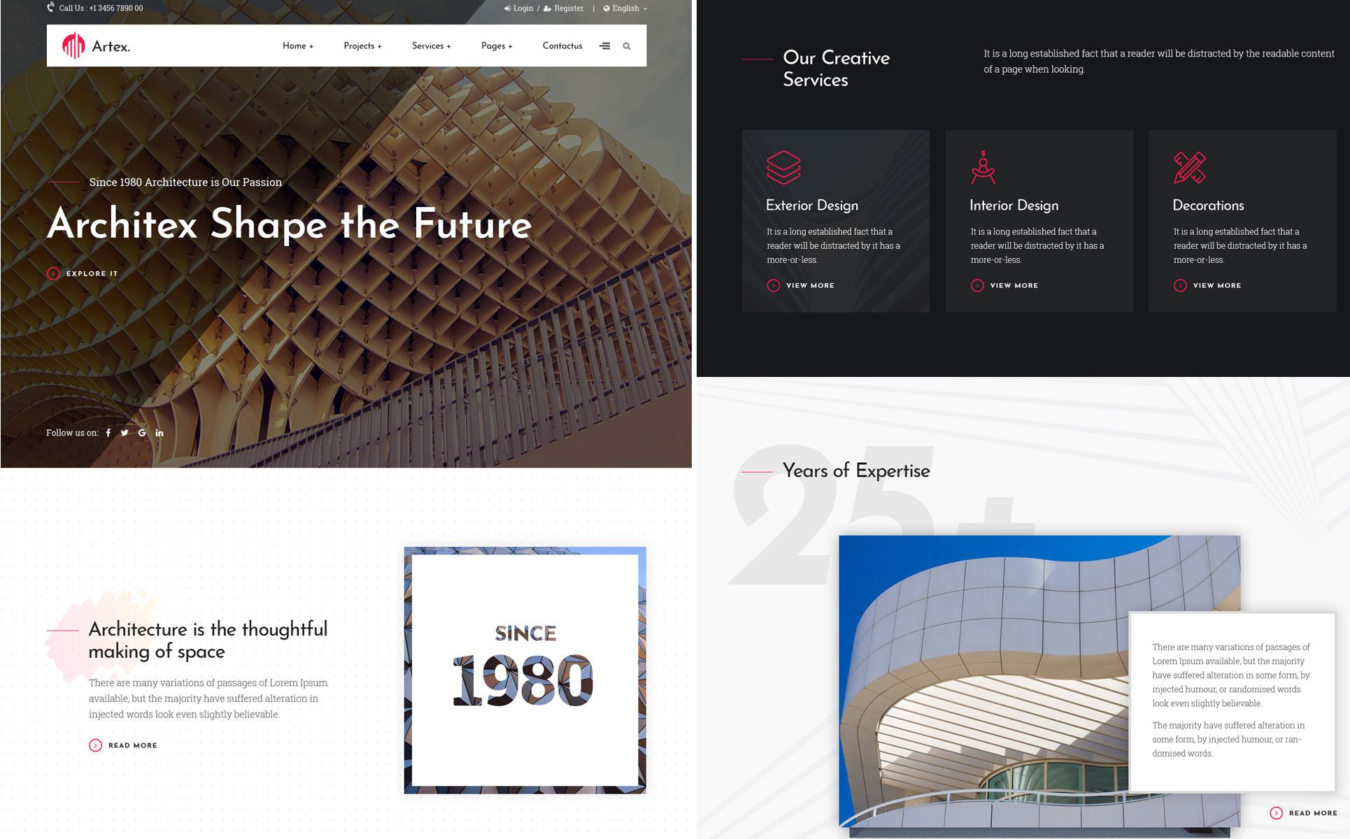 Architecture & Construction Joomla Template