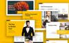 "Modello PowerPoint #70847 ""Business Talk"" Screenshot grande"