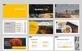 Szablon PowerPoint Business Talk #70847
