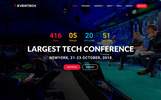 Eventech - Conference & Event Joomla Template