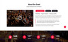 Eventech - Conference & Event Joomla Template Big Screenshot
