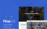 "Joomla шаблон ""Onebiz - Multipurpose Business"""