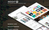 INSIGHT - Multipurpose Responsive WordPress Theme New Screenshots BIG