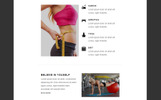 "Template di Newsletter Responsive #80893 ""Fitness - Responsive"""