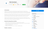 Jobster - Job Board Website Template