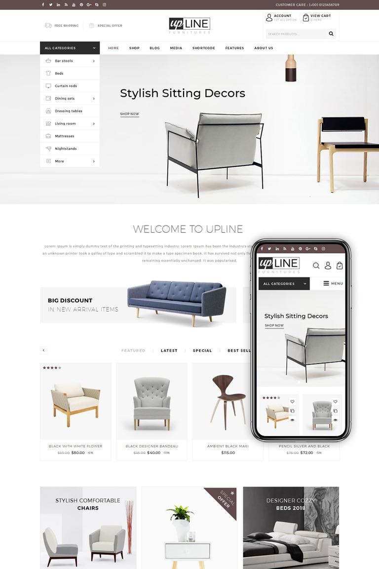 Upline furniture online store woocommerce theme 68573 upline furniture online store woocommerce theme new screenshots big maxwellsz