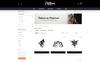 Plantilla OpenCart para Sitio de Salones de piercing Captura de Pantalla Grande