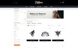 Plantilla OpenCart para Sitio de Salones de piercing