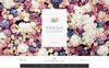 """The Wedding Time Responsive"" 响应式OpenCart模板 大的屏幕截图"