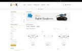Look Glasses Responsive OpenCart Template