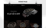 Vigor - The Watch Store Responsive OpenCart Template