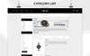 Vigor - The Watch Store Responsive Template OpenCart  №80197 Screenshot Grade
