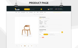 "Bootstrap OpenCart šablona ""Icraft - The Premium Furniture"""