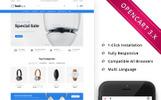 Techous Electronic Store - Responsive OpenCart Template