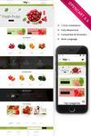 Vegfru Organic Store OpenCart Template