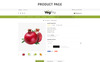 Vegfru Organic Store OpenCart Template Big Screenshot