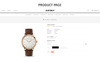 JustBuy Watch Store - Responsive OpenCart Template Big Screenshot