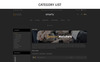 "OpenCart Vorlage namens ""Smart Watch - Responsive"" Großer Screenshot"