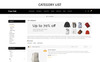 Treefab - Fashion Store Responsive Template OpenCart  №71461 Screenshot Grade
