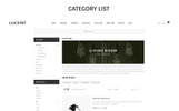 Plantilla OpenCart para Sitio de Decoración del hogar
