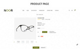Responsywny szablon OpenCart Noor - The Optical Shop Responsive #73494