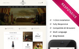 """WineMenu - The Wine Shop Responsive"" Responsive OpenCart Template"