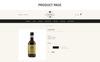 """WineMenu - The Wine Shop Responsive"" Responsive OpenCart Template Groot  Screenshot"