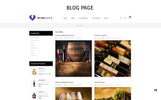 "OpenCart Vorlage namens ""Winecafe - The Bar"""
