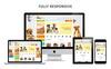Petsshop Responsive Template OpenCart  №73673 Screenshot Grade