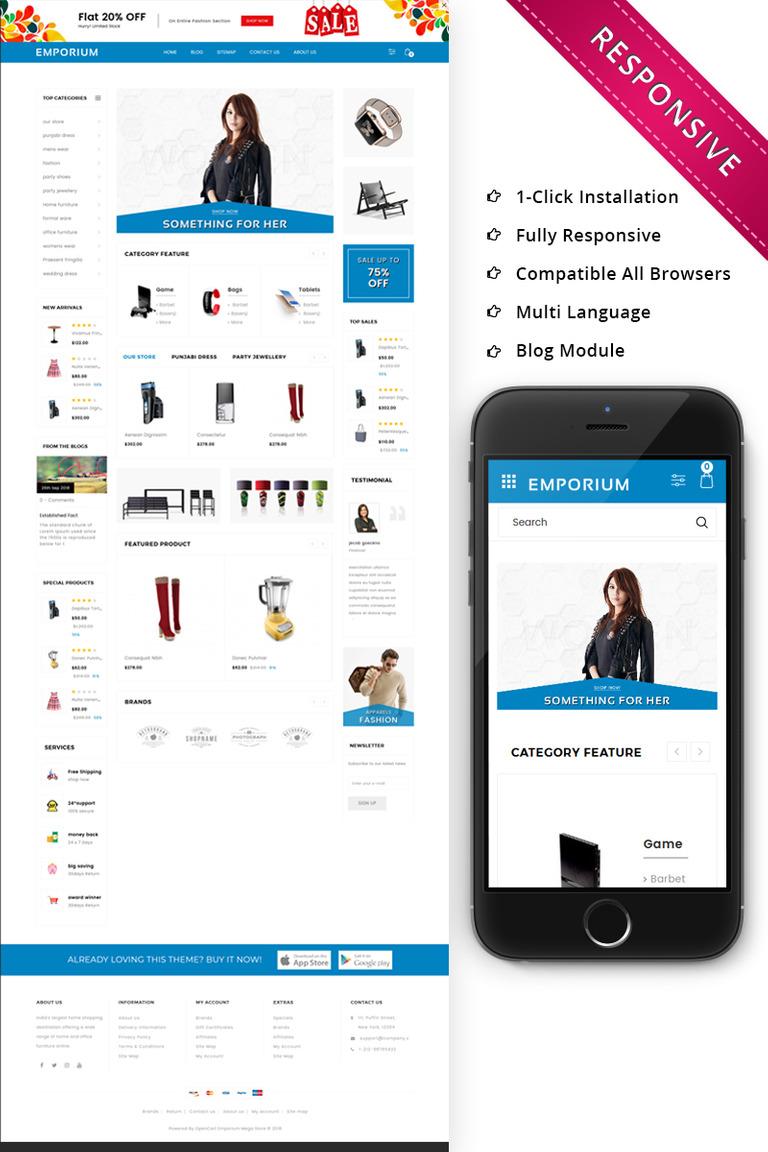 Opencart Vorlage 73745 Für Mode Shop