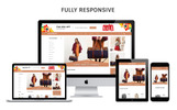 """OpenCart Vorlage namens """"Authority - Leather Store Responsive"""""""