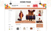 """OpenCart Vorlage namens """"Authority - Leather Store Responsive"""" Großer Screenshot"""