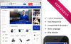 Plantilla OpenCart para Sitio de Ruedas y neumáticos Captura de Pantalla Grande