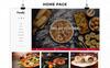 """""""Foody - The Restraunt Store Responsive"""" thème OpenCart adaptatif Grande capture d'écran"""