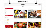 """""""Foody - The Restraunt Store Responsive"""" thème OpenCart adaptatif"""