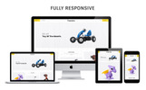 """Toysons - Children Shop Responsive"" 响应式OpenCart模板"
