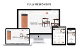 Responsywny szablon PrestaShop Furnu - The Furniture Store Responsive #74648